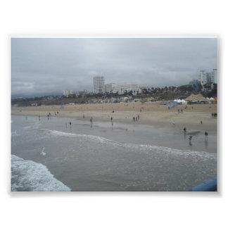 Santa Monica Beach Photo