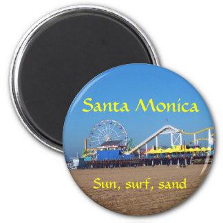 Santa Monica Beach Pier Magnet
