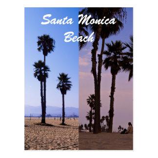 Santa Monica Beach Post Card