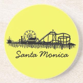 Santa Monica CA California Pier Beach Ferris Wheel Coaster