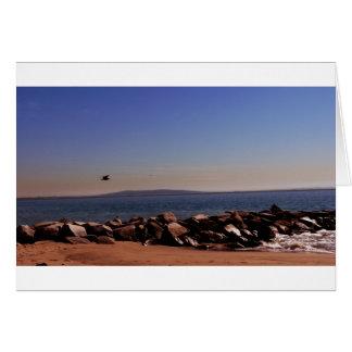 Santa Monica CA Oceanview Greeting Cards