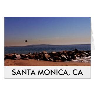 Santa Monica, CA Oceanview Greeting Card