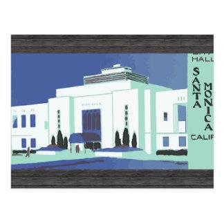 Santa Monica Calif , Vintage Post Cards