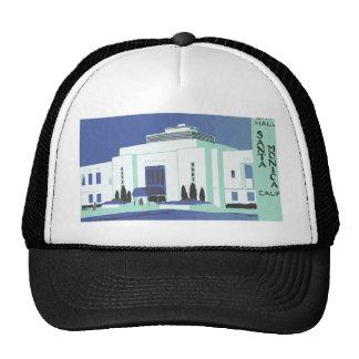 Santa Monica Calif , Vintage Trucker Hats