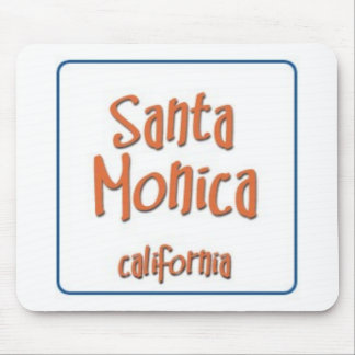Santa Monica California BlueBox Mouse Pad