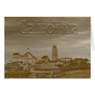 Santa Monica California Card