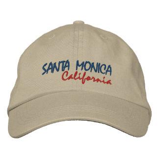 SANTA MONICA California Baseball Cap