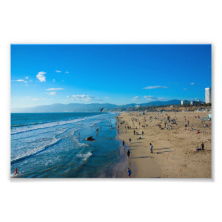 Santa Monica, California Photo Print