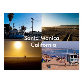 Santa Monica - California Post Card