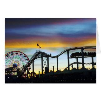 Santa Monica Greeting Card
