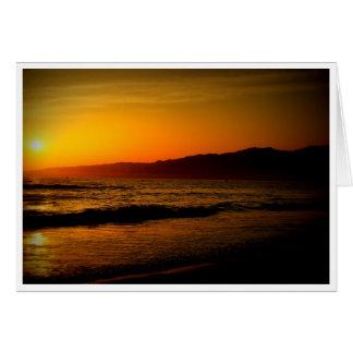 Santa Monica Note/Greeting Card