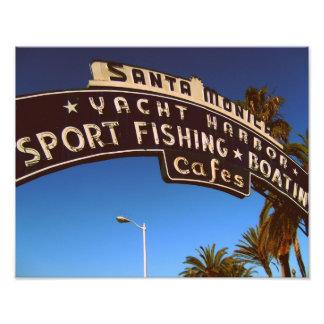 Santa Monica Pier 14x11 Photo Print