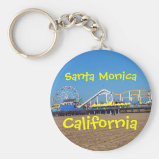 Santa Monica Pier, California Key Ring
