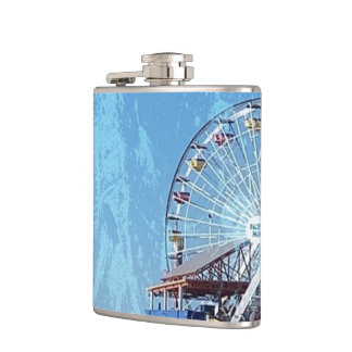 Santa Monica Pier Hip Flask