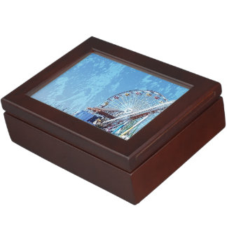 Santa Monica Pier Keepsake Box