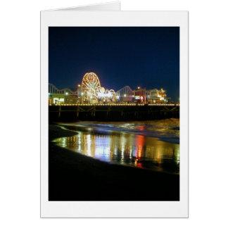 Santa Monica Pier, Los Angeles Greeting Card