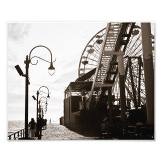 Santa Monica Pier Photographic Print