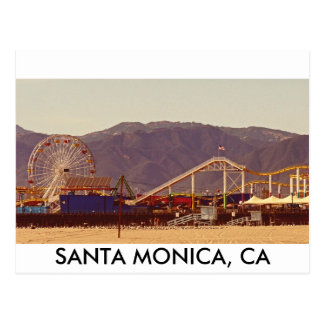 Santa Monica Pier - Post Card