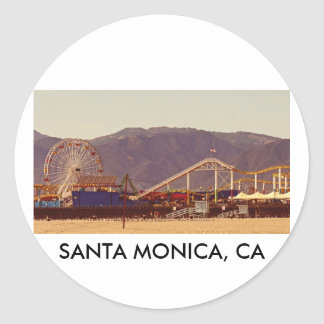 Santa Monica Pier - Sticker Sheet