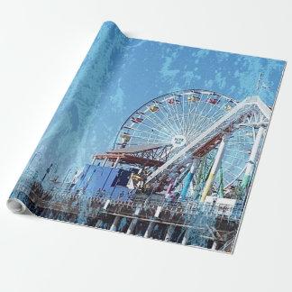 Santa Monica Pier Wrapping Paper