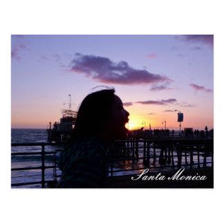 Santa Monica Postcard