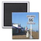 Santa Monica Route 66 Magnet! Magnet