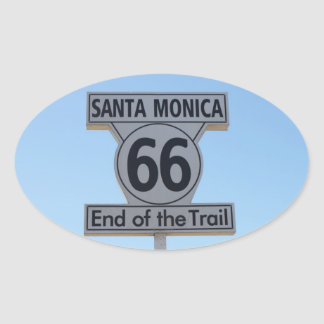 Santa Monica Route 66 Sticker