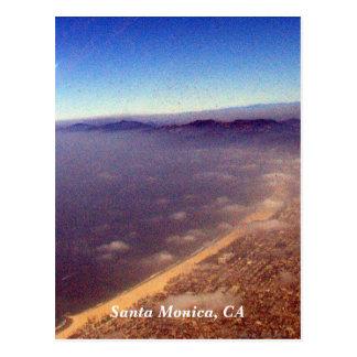 Santa Monica Shore, Santa Monica, CA Postcard