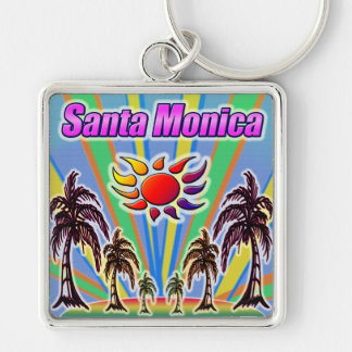 Santa Monica Summer Love Keychain