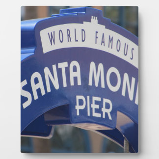 Santa Monica Venice Beach California Beach Holiday Plaque