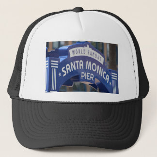 Santa Monica Venice Beach California Beach Holiday Trucker Hat