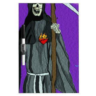 santa muerte apparell Dry-Erase whiteboard