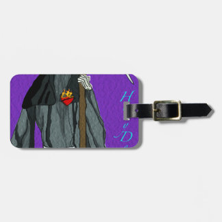 santa muerte apparell tags for bags