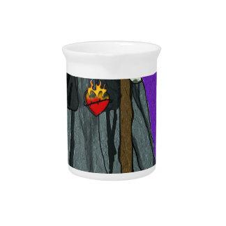 santa muerte apparell beverage pitchers