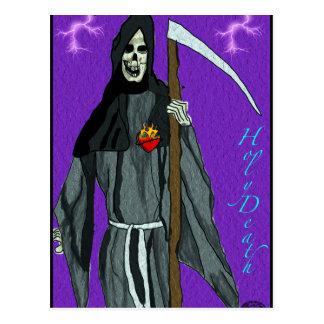 santa muerte apparell postcard
