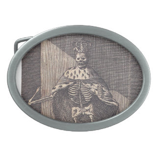 Santa Muerte Belt Buckle