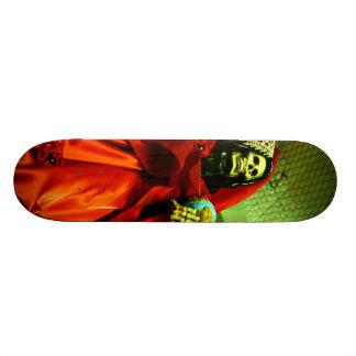 Santa Muerte Custom Skateboard