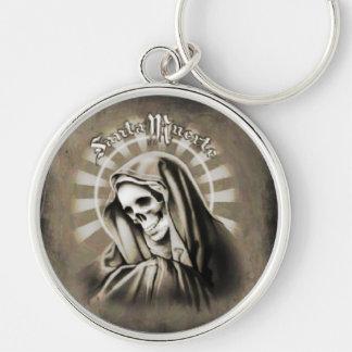 Santa Muerte Key Ring