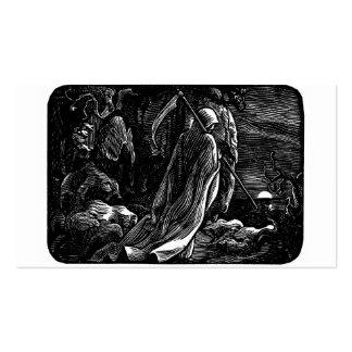 Santa Muerte (Mexican Grim Reaper) Business Card Template