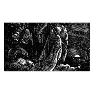 Santa Muerte (Mexican Grim Reaper) circa 1939 Business Card Templates