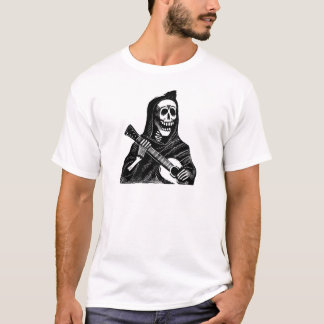 Santa Muerte with Guitar circa early 1900s T-Shirt