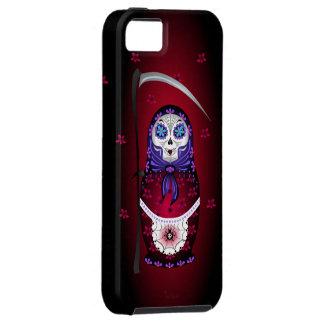 Santa Muertryoshka iPhone case