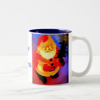 Santa Two-Tone Mug