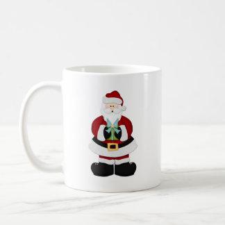 Santa Basic White Mug