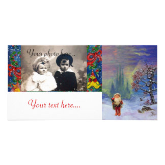 SANTA OF THE GNOMS PHOTO CARD TEMPLATE