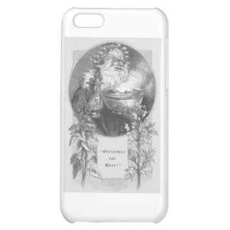 santa old time iPhone 5C cover
