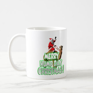 Santa On Camel Christmas Basic White Mug