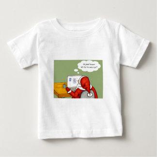 Santa on Facebook Baby T-Shirt