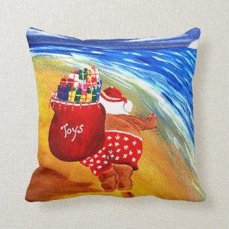 Santa On The Go Cushion
