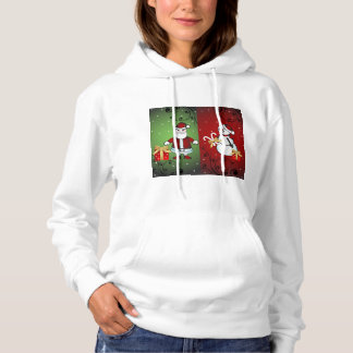 Santa or Snowman?  Why Choose. Hoodie